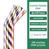 colorful flexible 6x197 wrapped