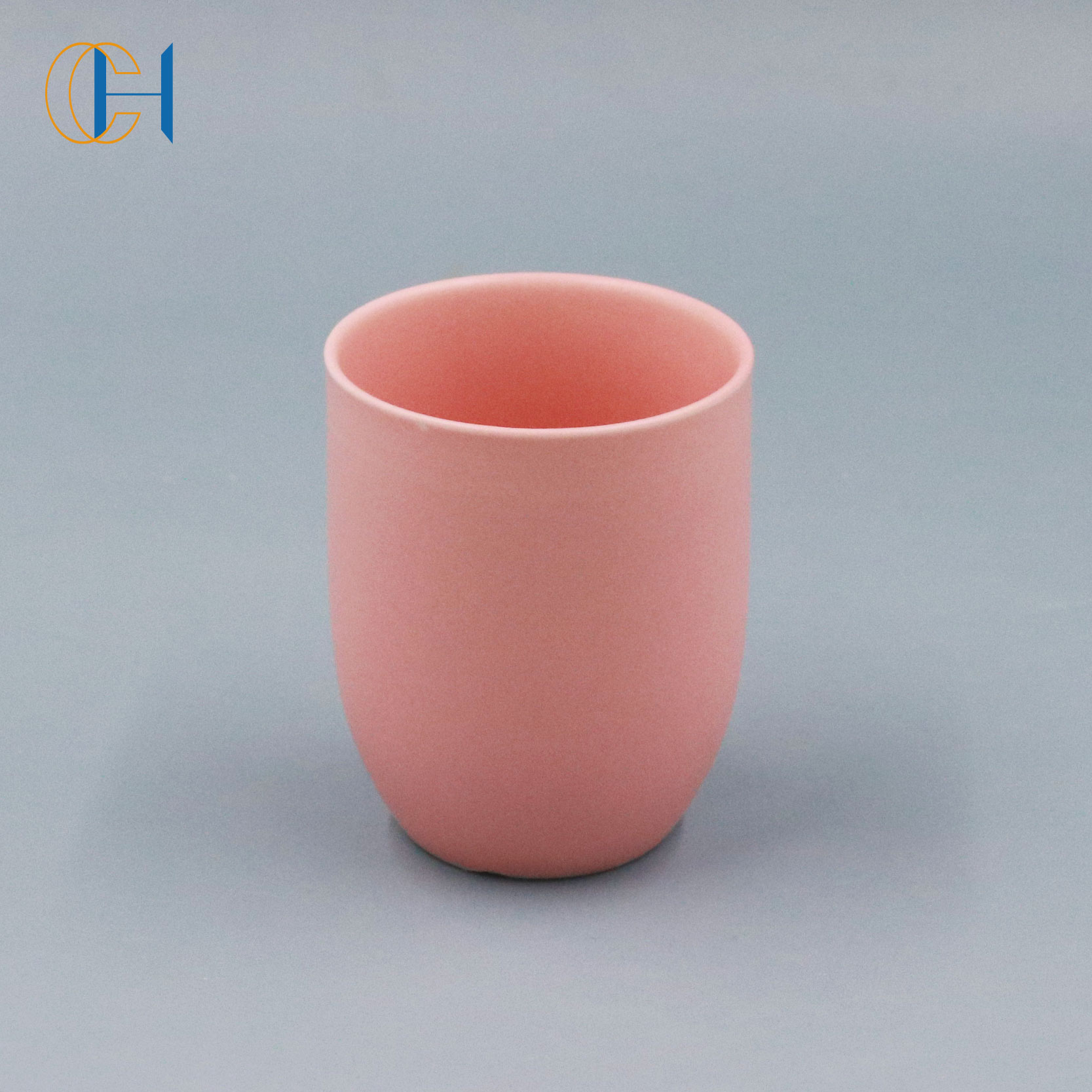 Minimalism style home decoration table decor handcrafted Charisma Gift Luxury ceramic candle jar with lid