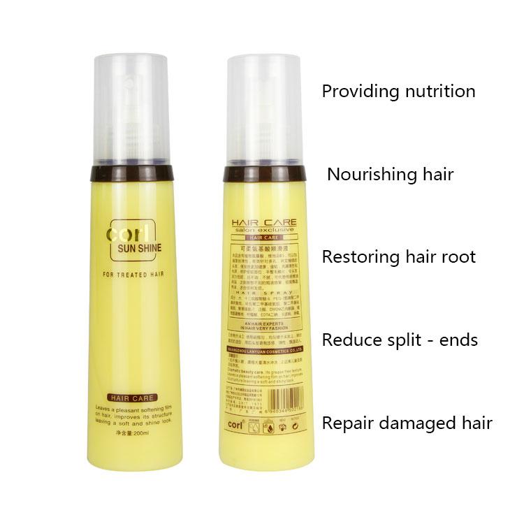 Best brand corl Sunshine hair repair liquid