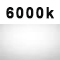 6000k white light