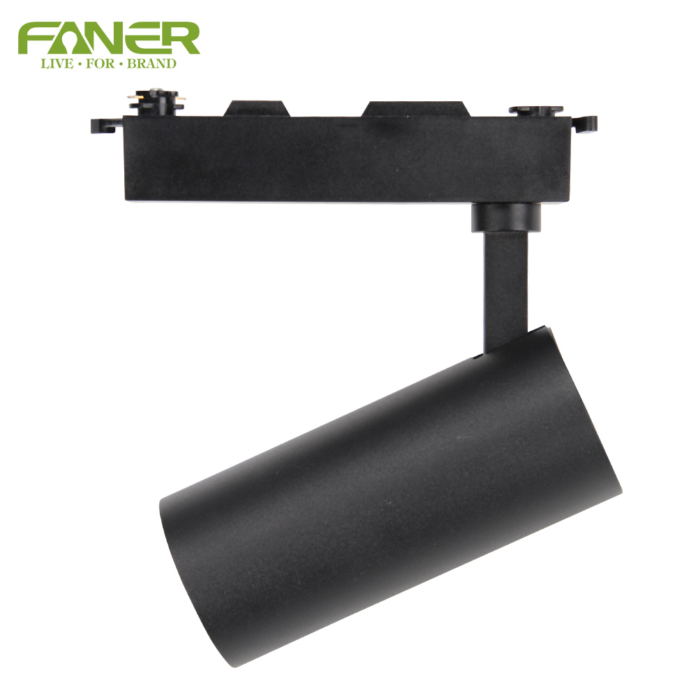 Faner hot sale series 10W 20W 30W COB LED Track Light with CB CE ROHS BIS Certifications