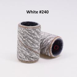 Шлифовальные ленты для ногтей, белая зебра