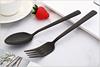 Tafel vork, dessert lepel