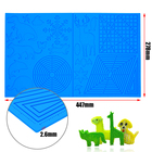 Board 3d Pen Mat Drawing Foldable Kids Doodler Toy Pad 3 D Painting Accessories Large Design 3D Print Pen Mat Drawing Board Silicone Template