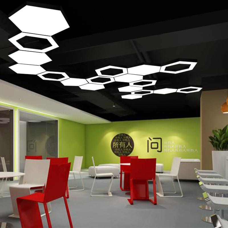 Простые круглые офисные подвесные люстры в скандинавском стиле