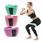 Band Buttocks Circle Squat Resistance Band Yoga Butt Lift Beautiful Legs Non-slip Fitness Hip Training Beautiful Buttocks Circle