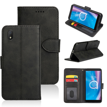 Retro Luxury Leather Case For Alcatel 1B 1A 1S 2020 3 3C 3V 3X 2019