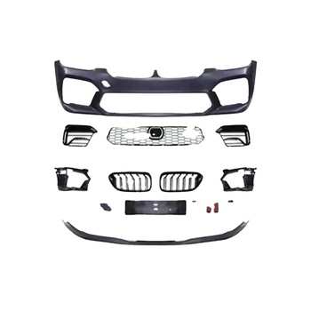 2021 Style PP material Front Bumper For BMW 5 Series G30 G38 Facelift 2017-2021