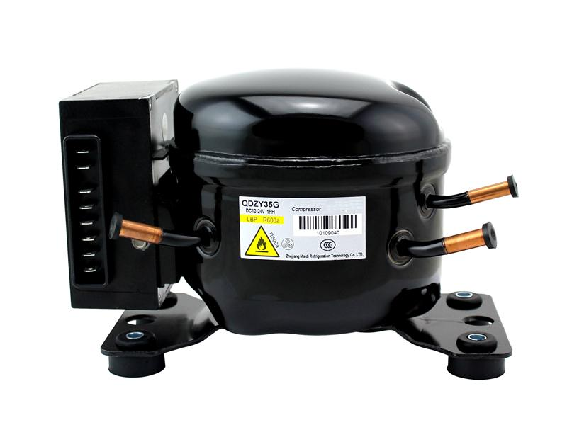 QDZH35G QDZH65G R134a refrigeration compressor mini 24v dc compressor
