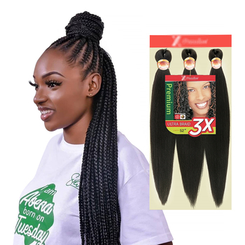 Free Sample Extensions Crochet for African Hair Expression Ombre Braids Easy Braid Pre Stretched Synthetic Braiding Hair