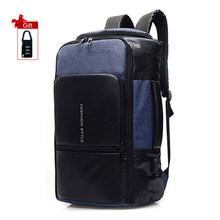 Женские и мужские дорожные рюкзаки 17, 15,6-дюймовый рюкзак для ноутбука, противокражный деловой рюкзак с USB зарядкой, рюкзак для ноутбука(Китай)