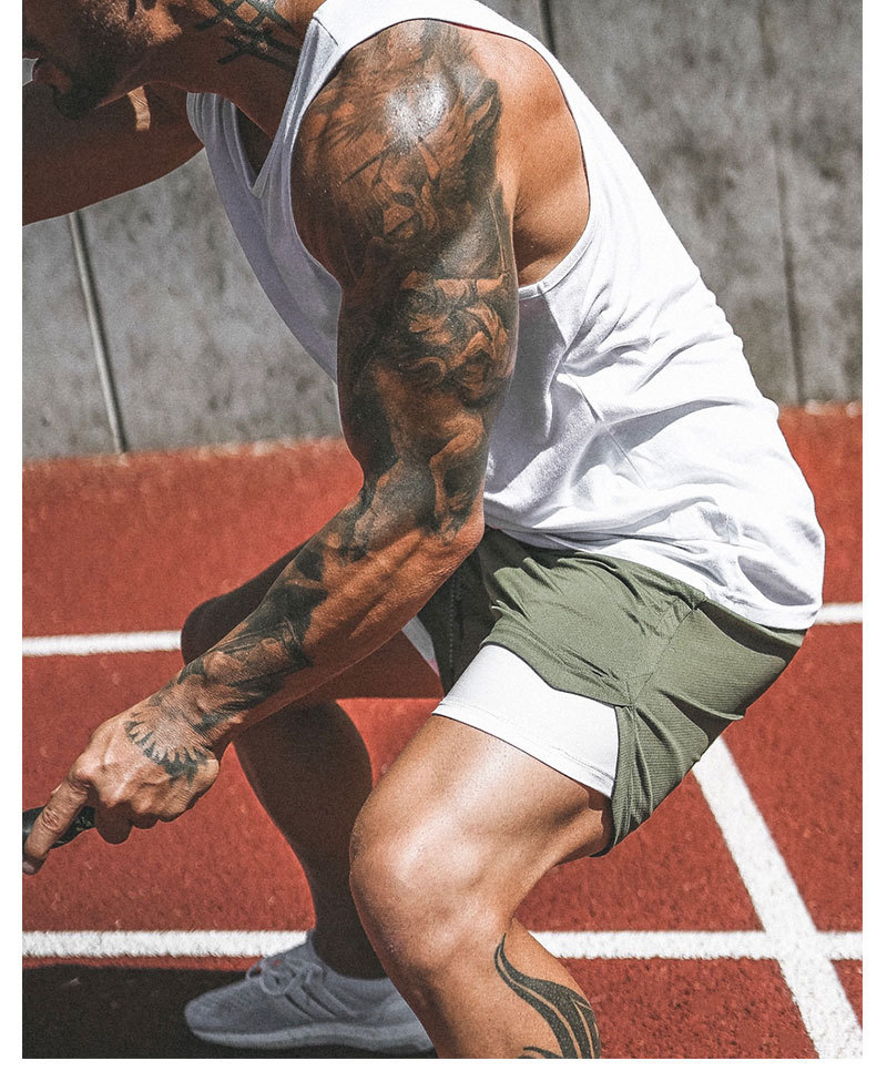 New Design High Quality Gym Shorts With Lining