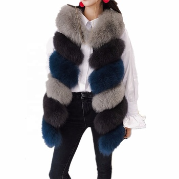 Vest Bubble Faux Fur Coat Jacket Fashion Women Import Coat Vest Women long Outwear Coat