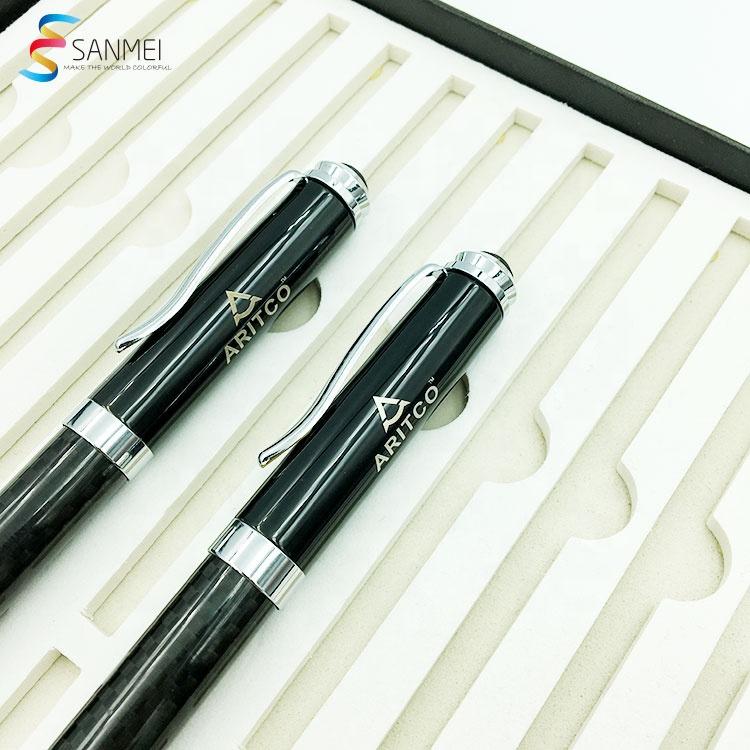 Высококачественный деловой подарок под заказ, металлическая Роскошная ручка с логотипом для Конференции