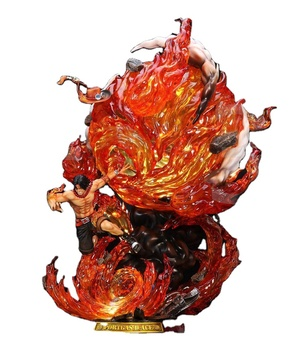 New Style sculpture animal chinese dragon one piece resin anime Statue