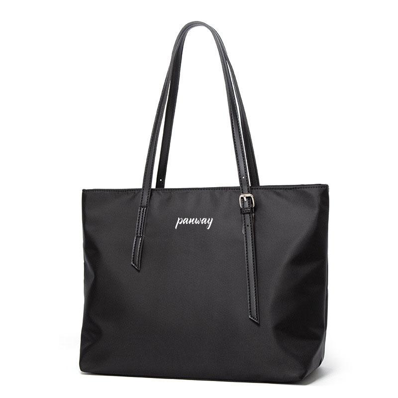 Large tote bag Hot sale New Fashion Eco-Friendly Women Wholesale Shoulder Woman shopping Handbag Nylon Tote Bag