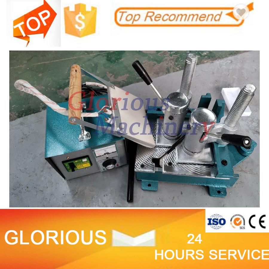 Small Manual Hand Window Door 220v Making Pvc Operation Plastic Welder Upvc Portable Welding Machine