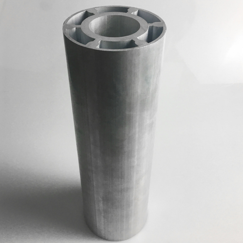 6063 T5 Flat Oval Aluminum Extrusion Factory Oem Aluminum Tube Triangular Aluminum Round Bar Price Per Ton