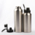 350ml 550ml 650ml 750ml 950ml 1200ml bpa free small mouth 18/8 stainless steel flask drinking  water bottle  with screw cap