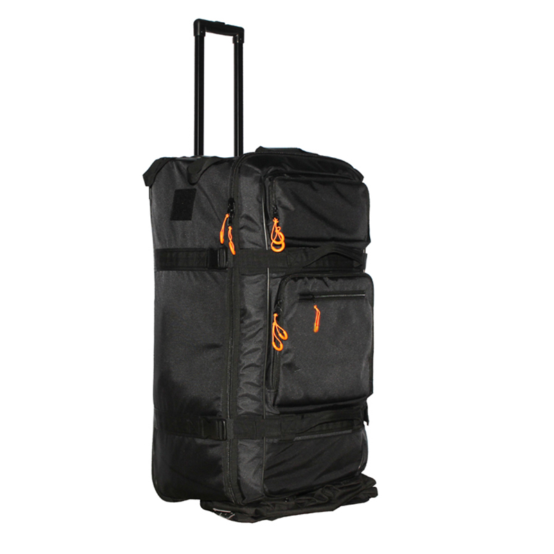 Traveling bag trolley Large Compartment Waterproof Outdoor Sports Travel Wheeled Cargo luggage Bag With Wheels
