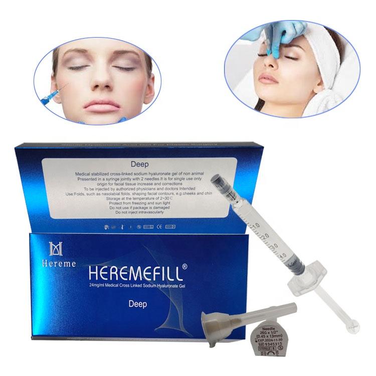 Plastic Surgery Hyaluronic Acid Injectable Dermal Filler for Remove Wrinkles