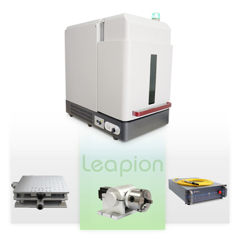 leapion fiber laser marking machine for army nameplate 20w 30w 50w made in china