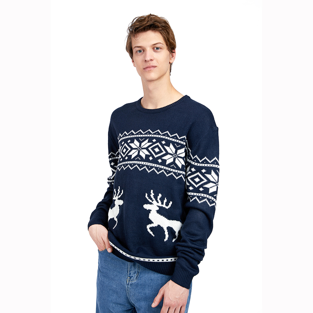 Wholesale 2021 Quality New Arrival Latest Design Unisex Custom Men Increase code Knitted shirts Ugly Christmas Sweater
