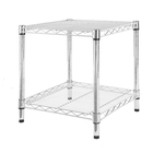 Organizers Large Capacity Durable Organizers Metal Shelf Kitchen Wire Shelving Units Wheels