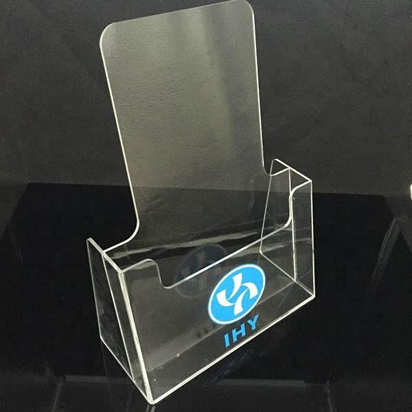 Заказной А5 держатель для листовок прозрачный акриловый держатель для брошюр