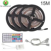 Светодиодный ленточный светильник DC12V 2835 SMD, белый, теплый белый, 1 м, 2 м, 3 м, 4 м, 5 м, для потолка, прилавка, светильник, не водонепроницаемый(Китай)