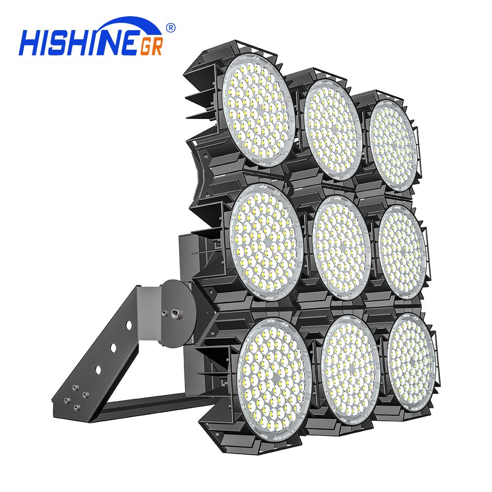 High Lumen 1000W Indoor Outdoor Volleyball Badminton Tennis Court Football Stadium LED Flood Lighting