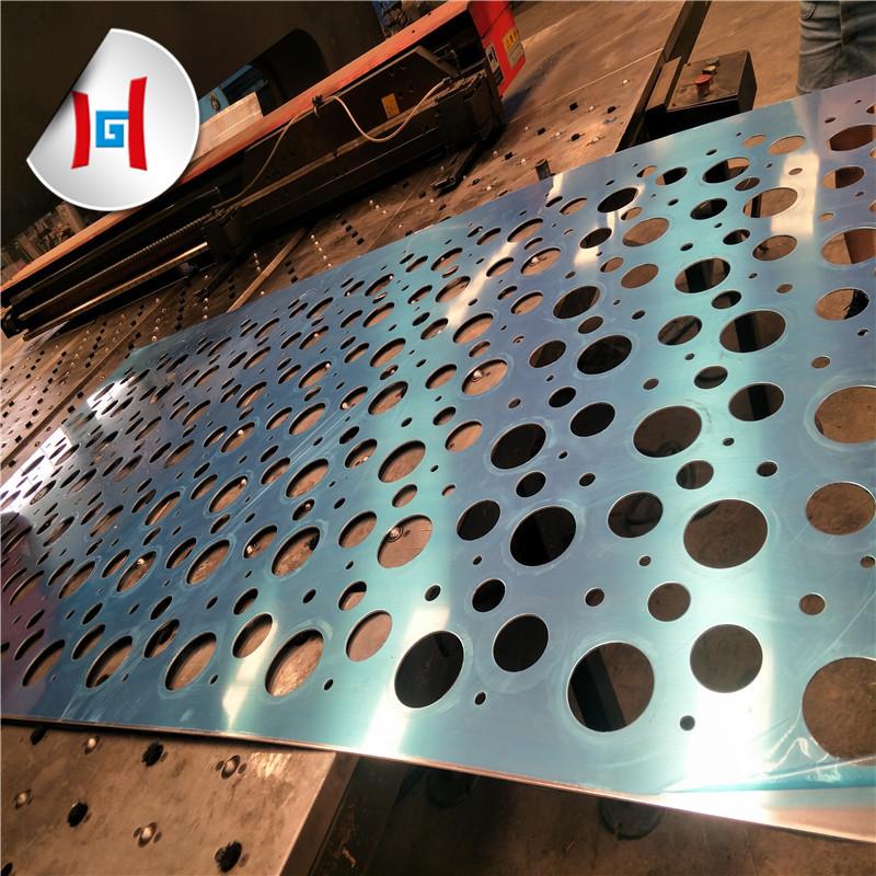 Перфорированный лист из нержавеющей стали с металлической сеткой 321