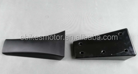 Motorcycle Driver Rear Passenger Seat single Up Seat For Stealth bomber ebike