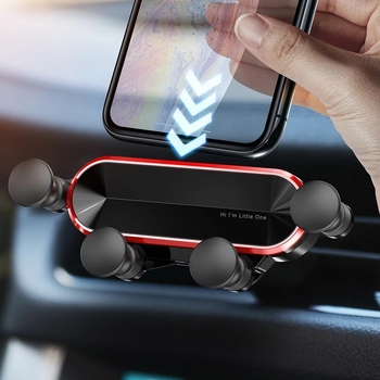 2021 New Product No Magnetic Gravity Car Phone Holder For iPhone For Xiaomi For Huawei Smartphone In Car