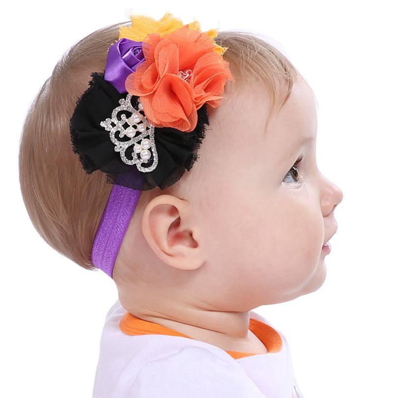 Baby Nylon Headband Halloween Fall Nylon Headband