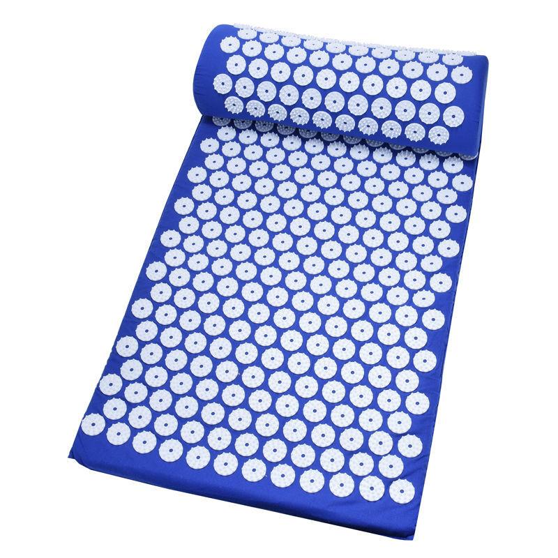 Массажный экологически чистый коврик для йоги акупрессуры кокосовый коврик для акупрессуры и набор подушек