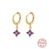 Purple Stone-Gold Color