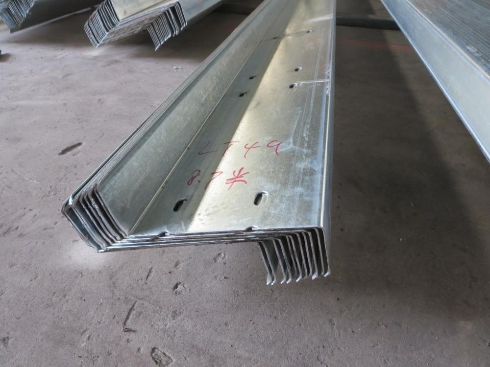galvanized cold bending Structural Steel Channel Z purlins dimensions