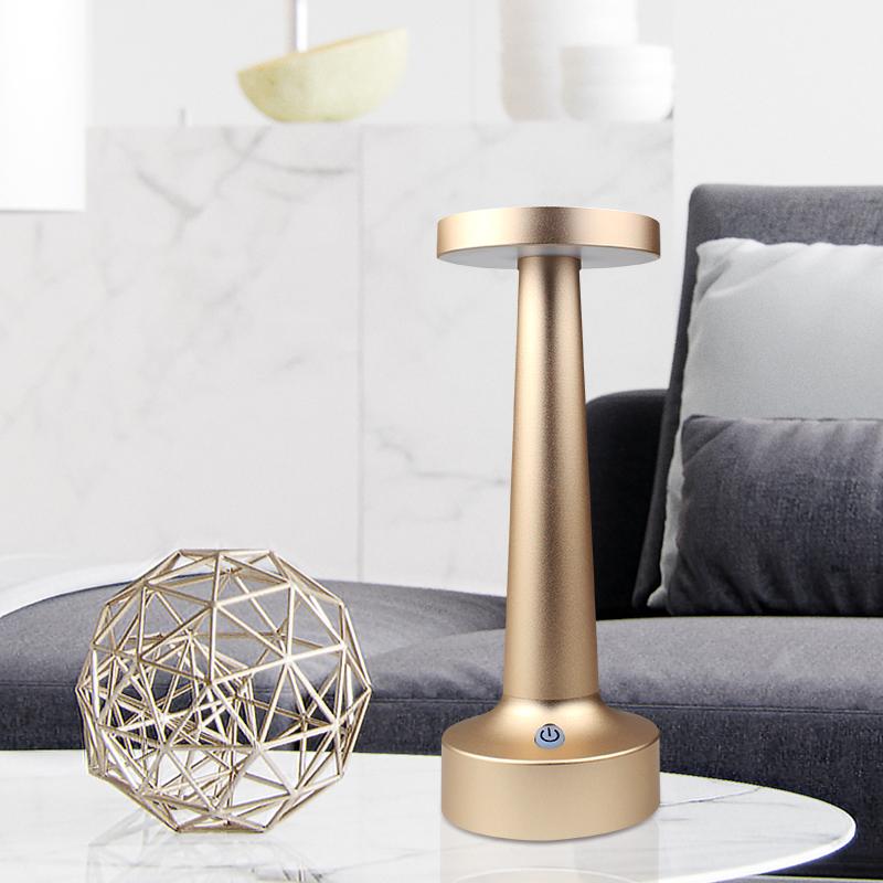 Новинка, современный, скандинавский стиль, KTV, барная лампа, настольная лампа для отеля, для ужина, перезаряжаемая, гантель, LED, беспроводная, ресторанная батарея, подарочная