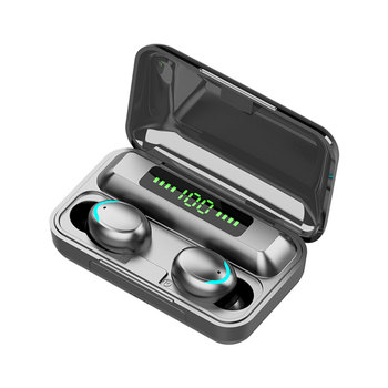 F9-5C TWS IPX5 2000mAh Battery Bluetooth Earphone Waterproof in-Ear Stereo True Wireless Earbuds