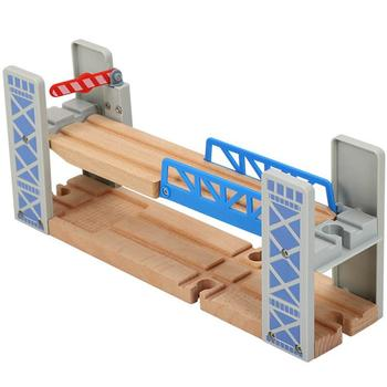 Wooden Train Track Bridge Fun Early Educational Toy for Kids for Wood Train Pieces Educational Toys for Children Gifts