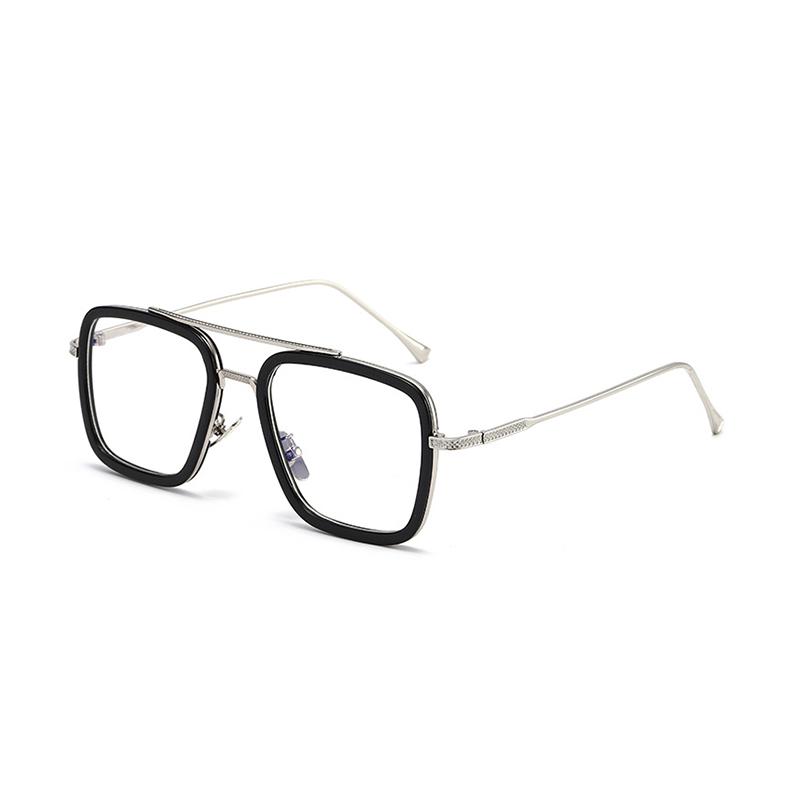 Tony Stark Iron Men Sunglasses with Anti Blue Glasses Factory Direct Sales
