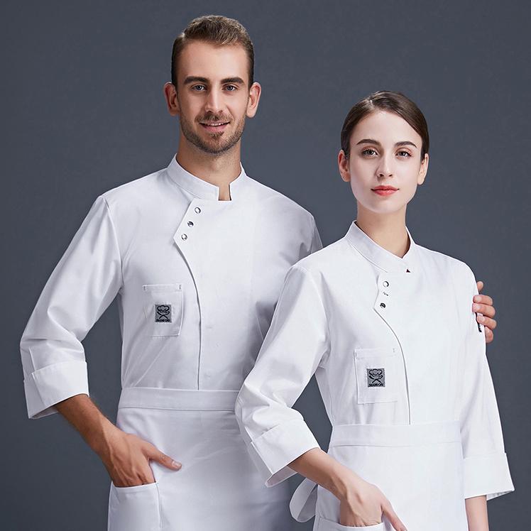 Униформа шеф-повара для ресторана фаст-фуда, кафе, салона, пекарни, новый выпуск