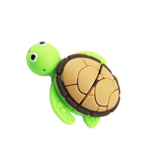 2020 Promotional 3d animal cartoon 2GB 4GB pendrive soft pvc USB 2.0 3.0 tortoise 8GB usb 16GB flash drive with customized logo - USBSKY | USBSKY.NET