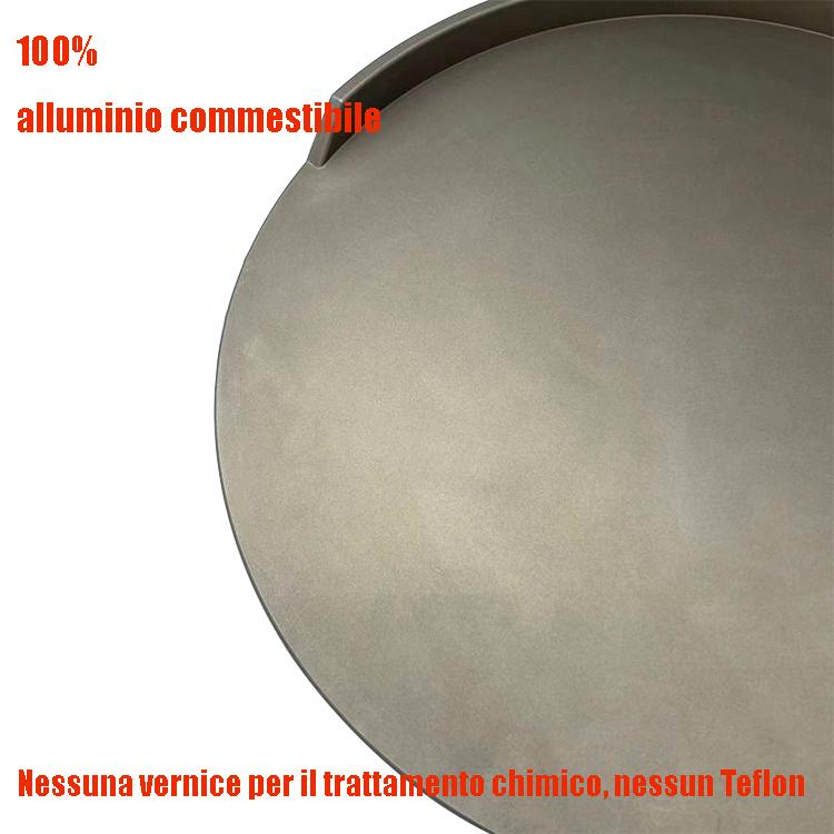 alluminio 12 pollici forno pizza a gas