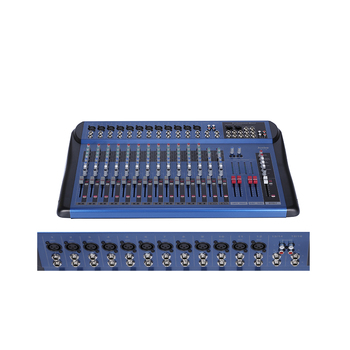 JB-L16 professional audio, video & lighting dj mixer karaoke usb audio interface sound mixer console