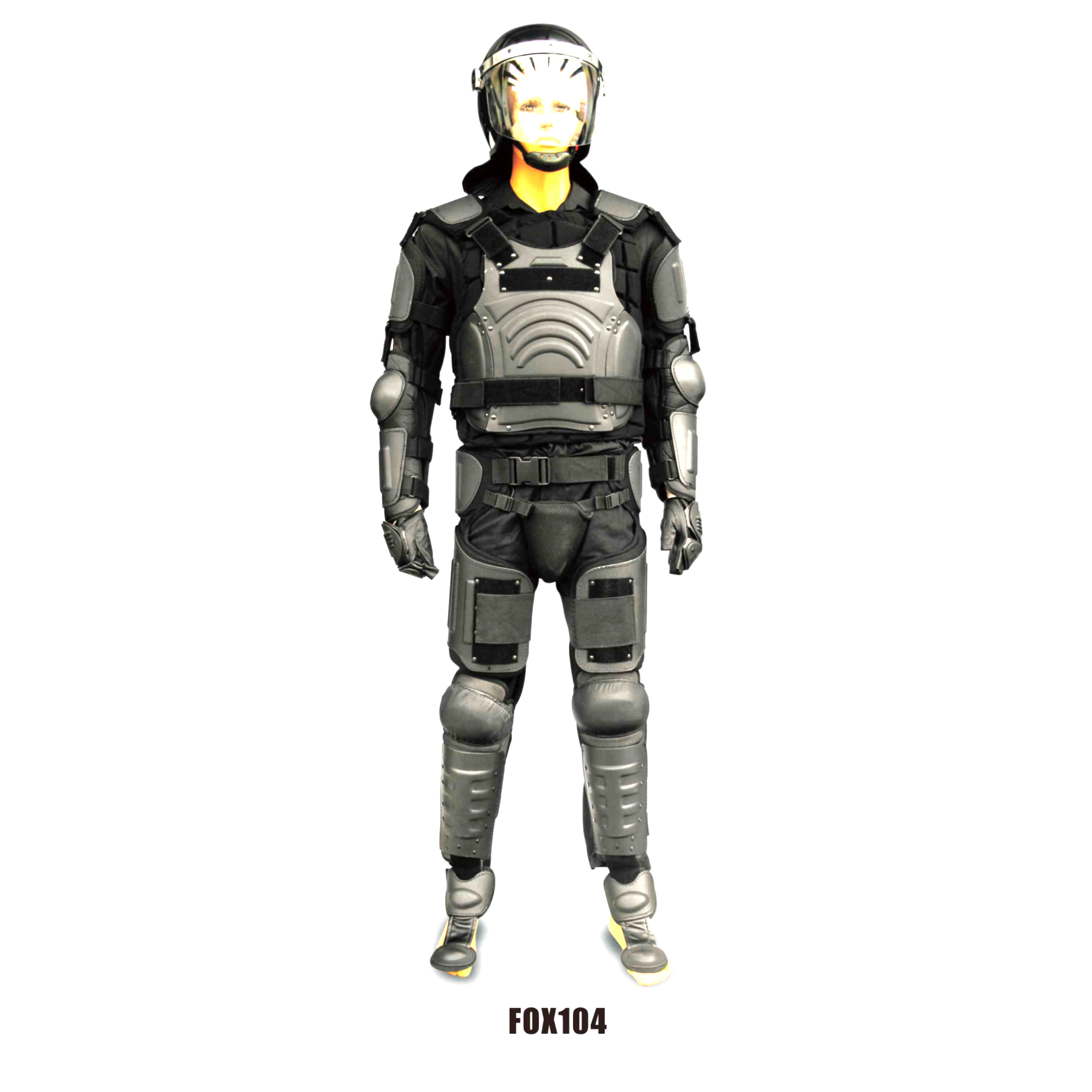 Tactical Anti riot armor for full body protection Body Vest with Neck Groin Protector