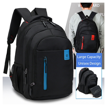 Factory wholesale fashion custom waterproof college high school laptop outdoor travel backpack with logo