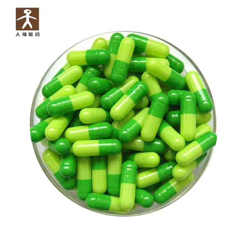Пустые вегетарианские жесткие капсулы HPMC разные размеры 00 0
