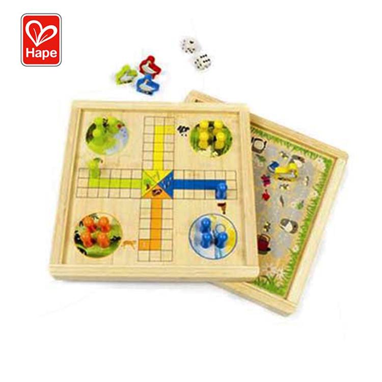 Высококачественные образовательные игрушки Hape, деревянная настольная игра, настольная игра для детей